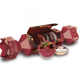 Cofanetto caramella con 6 cialde natalizie