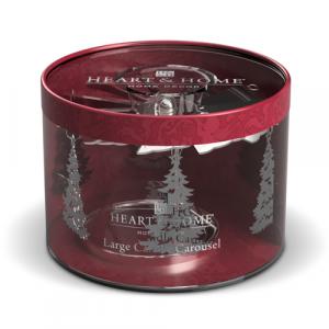 Carosello Alberi di Natale per candele 340g