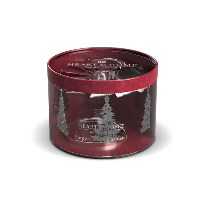 Carosello Alberi di Natale per candele 340g, Catalogo, SKU HHGN10, Immagine 1