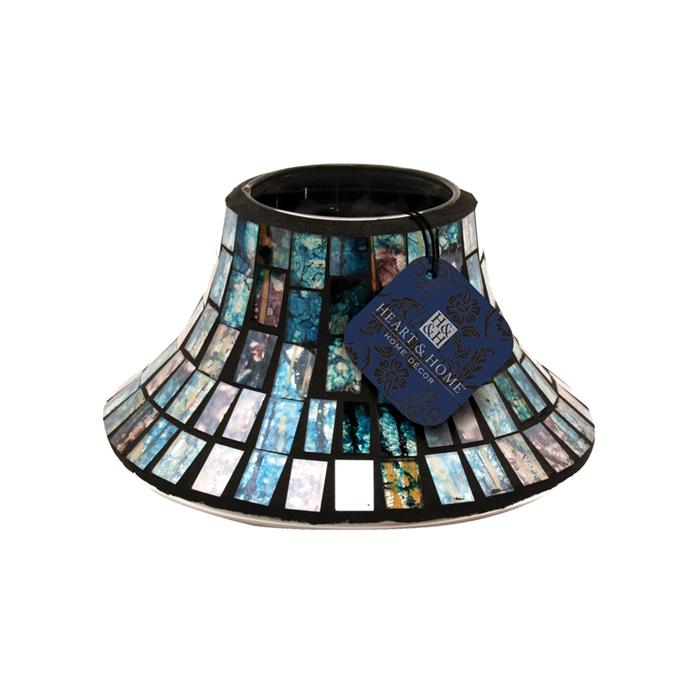 Paralume Perlato blu per candele grandi, Catalogo, SKU HHMG04, Immagine 1