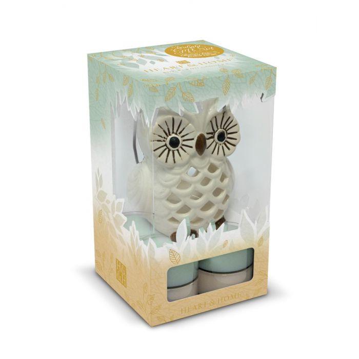 Confezione regalo Lanterna gufo, Catalogo, SKU HHBX10, Immagine 1